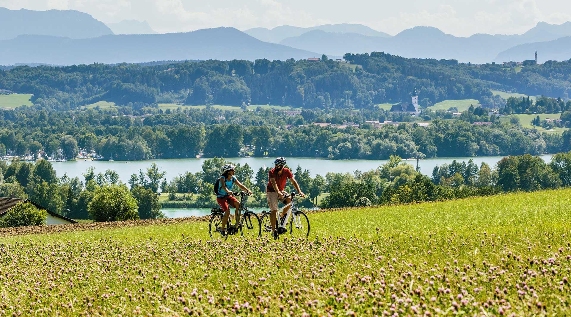 Radfahren im Chiemgau - Copyright by Chiemgau Tourismus e. V.